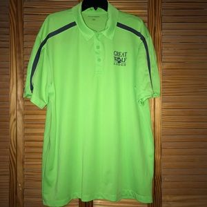 Other - Green Great Wolf Lodge Golf Polo